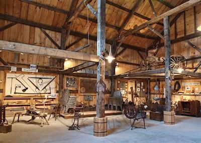 Barn Interior the barn