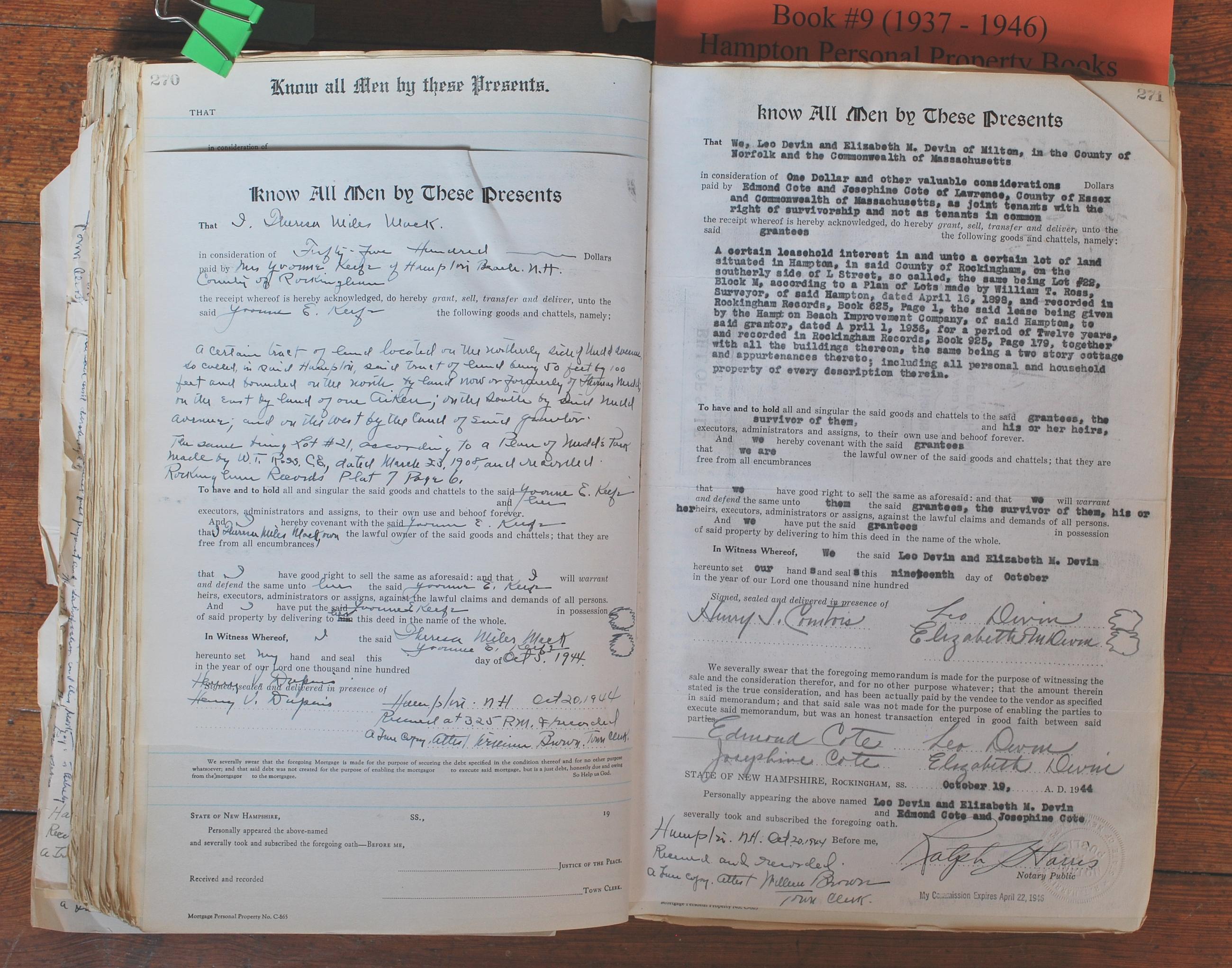 Book 09 - 1937-1946